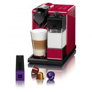 Cafeteira Expresso Nespresso Lattissima 19 Bar Vermelha com Kit 16 Cápsulas de Boas Vindas