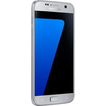 Smartphone Samsung Galaxy S7 SM-G930F Single Chip Prata Android 6.0 Marshmallow 4G Wi-Fi Câmera Dual Pixel 12MP Octa-Core e API Vulkan