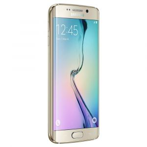 """Smartphone Desbloqueado Samsung Galaxy S6 Edge SM-G925I Dourado com 32GB, Tela de 5.1"""", Android 5.0, 4G, Câmera 16 MP e Processador Octa Core"""