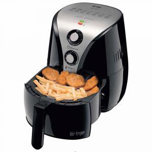 Fritadeira Elétrica Mondial Air Fryer Premium AF-01 (Não Necessita Óleo*) - Preto/Inox