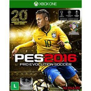 Jogo Pro Evolution Soccer 2016 - Xbox One