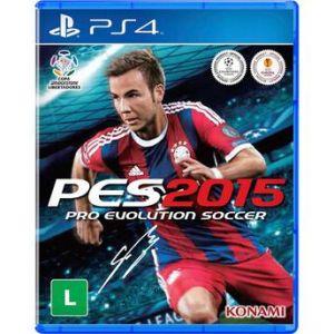 Jogo Pro Evolution Soccer 2015 para Playstation 4