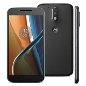 Smartphone Moto G4 XT1626 Preto com 16GB, Tela de 5.5'', TV digital, Dual Chip, Android 6.0, 4G, Câmera 13MP, Processador Octa-Core e 2GB de RAM
