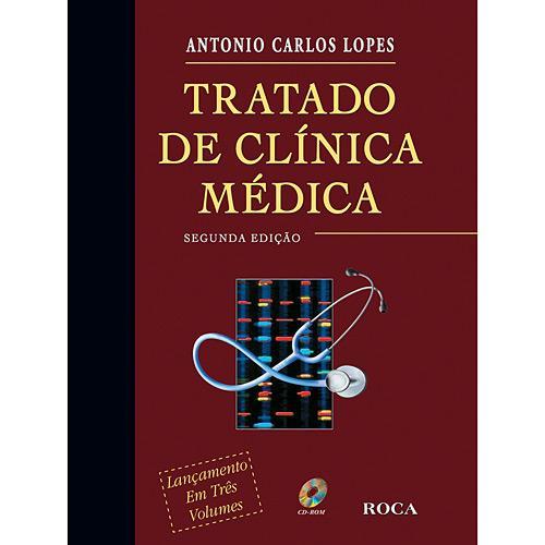 Livro - Tratado de Clínica Médica (3 Volumes) (Cód. 6841382)