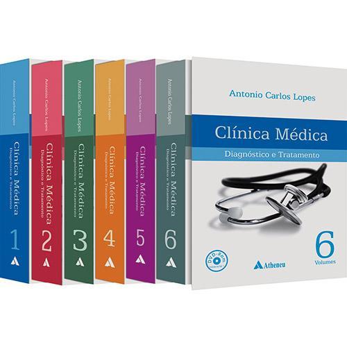 Livro - Clínica Médica: Diagnóstico e Tratamento (Cód. 116556836)