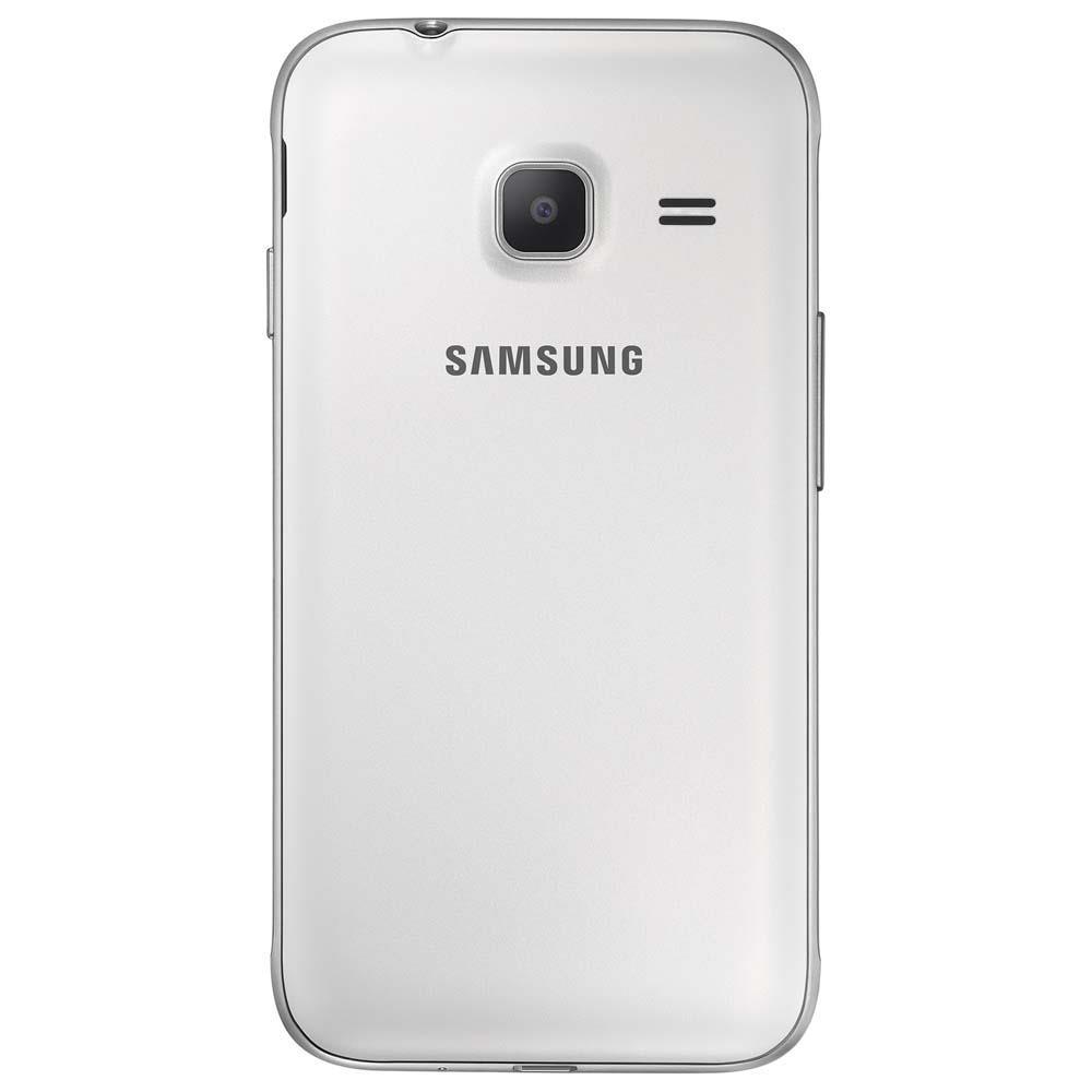 """Smartphone Samsung Galaxy J1 Mini Duos Branco com Dual Chip, Tela 4.0"""", 3G, Câmera de 5MP, Android 5.1 e Processador Quad Core de 1.2 GHz"""