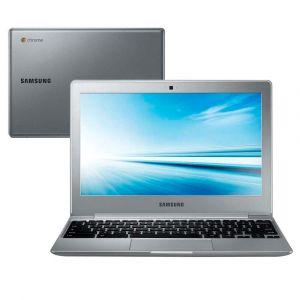 """Notebook Samsung Chromebook 500C12-AD1 com Intel® Dual Core N2840, 2GB, 16GB eMMC, Leitor de Cartões, HDMI, Wireless, Bluetooth, LED 11.6"""" e Chrome OS"""