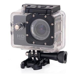 Câmera Filmadora Esportiva a Prova D`Água Sports Cam Full HD 1080P - Preto