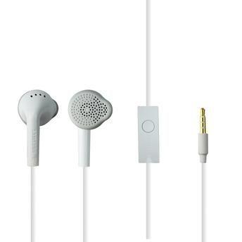 Fone de Ouvido Original Samsung Stereo Branco P2