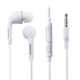 Fone de Ouvido Original Samsung Bi-Auricular em Silicone P2 Branco