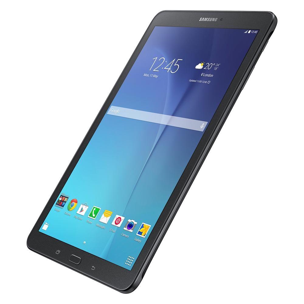 """Tablet Samsung Galaxy Tab E 9.6 Wi-Fi SM-T560 com Tela 9.6"""", 8GB, Câmera 5MP, GPS, Android 4.4, Processador Quad Core 1.3 Ghz – Preto"""