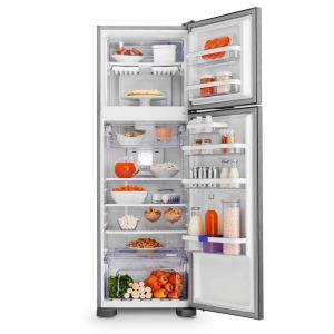 Refrigerador Electrolux DFX42 Frost Free com Painel Blue Touch 370 L - Inox