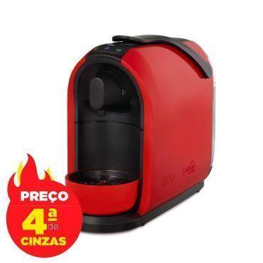 Máquina de Café Expresso e Multibebidas Mimo Vermelha