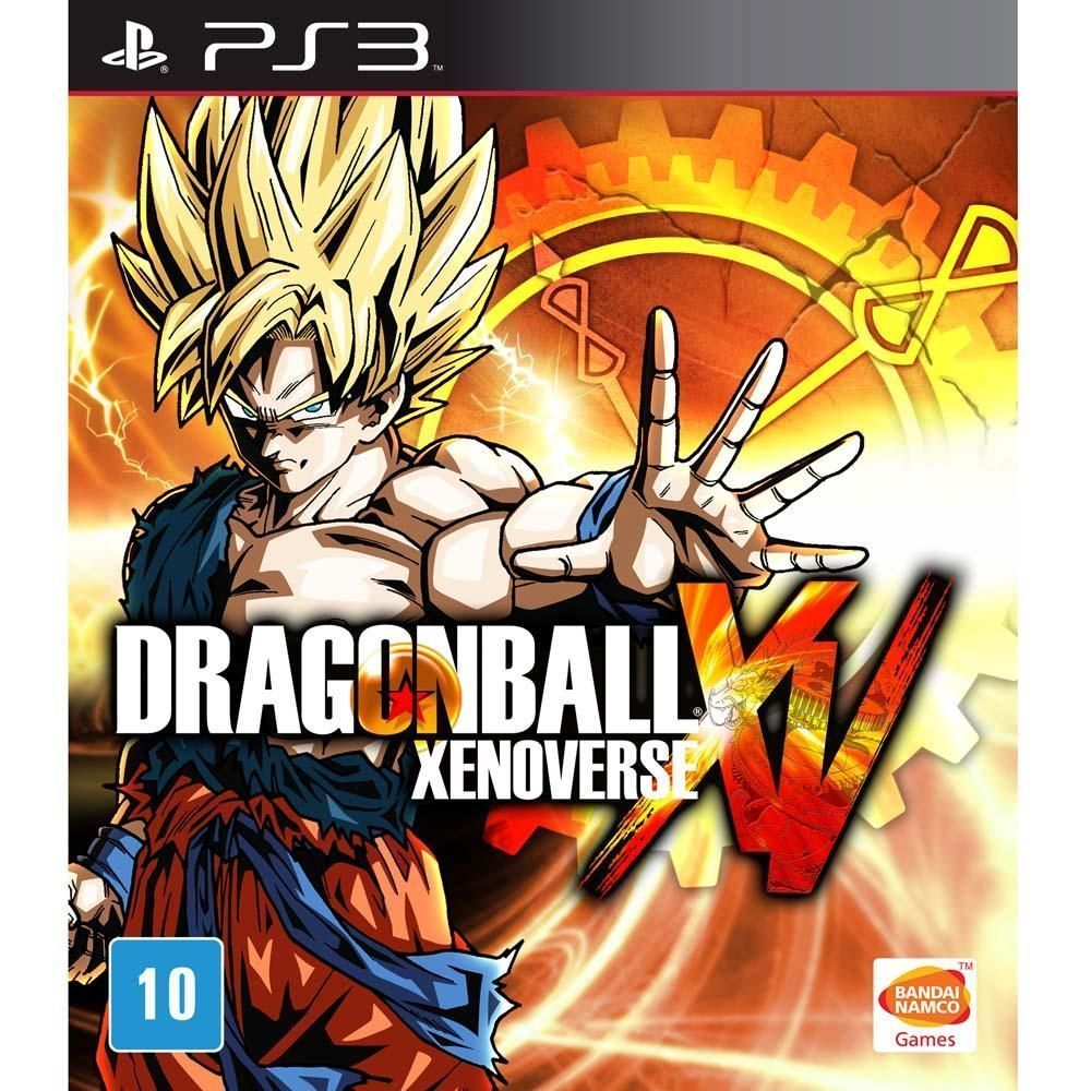 Jogo Dragon Ball Xenoverse (Sem DLC) - PS3