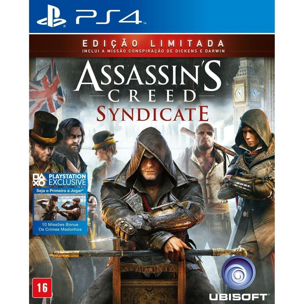 Jogo Assassin's Creed: Syndicate - Signature Edition - PS4