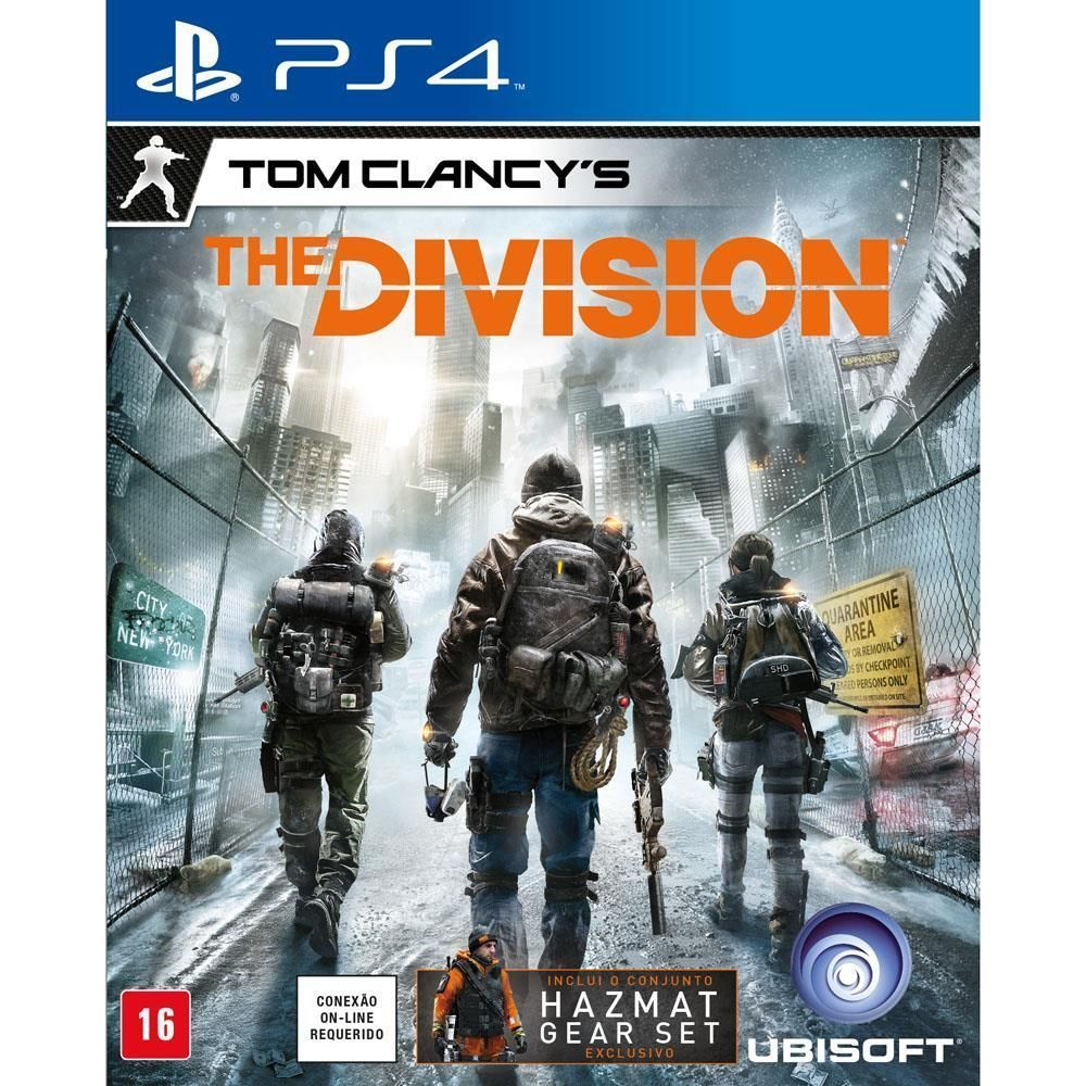 Jogo Tom Clancy's: The Division - Limited Edition - PS4