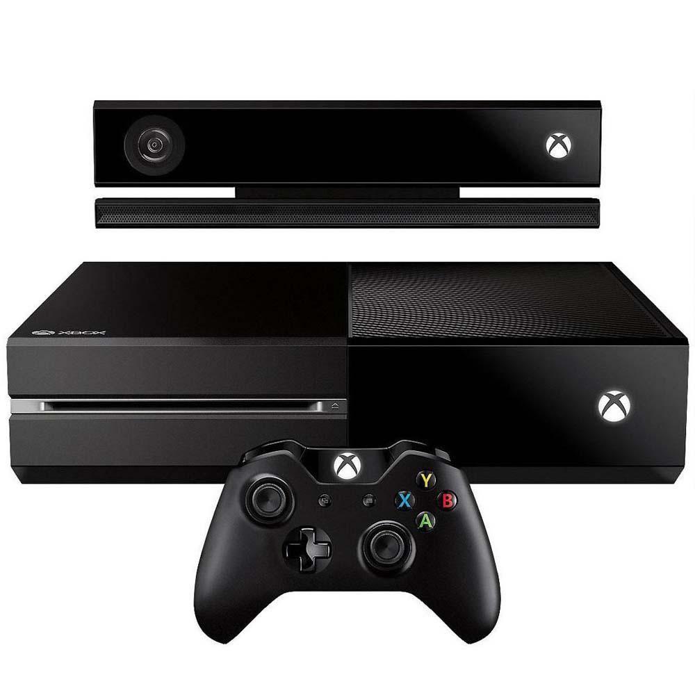 Console Xbox One 500 GB de Memória + Controle Sem Fio + Kinect