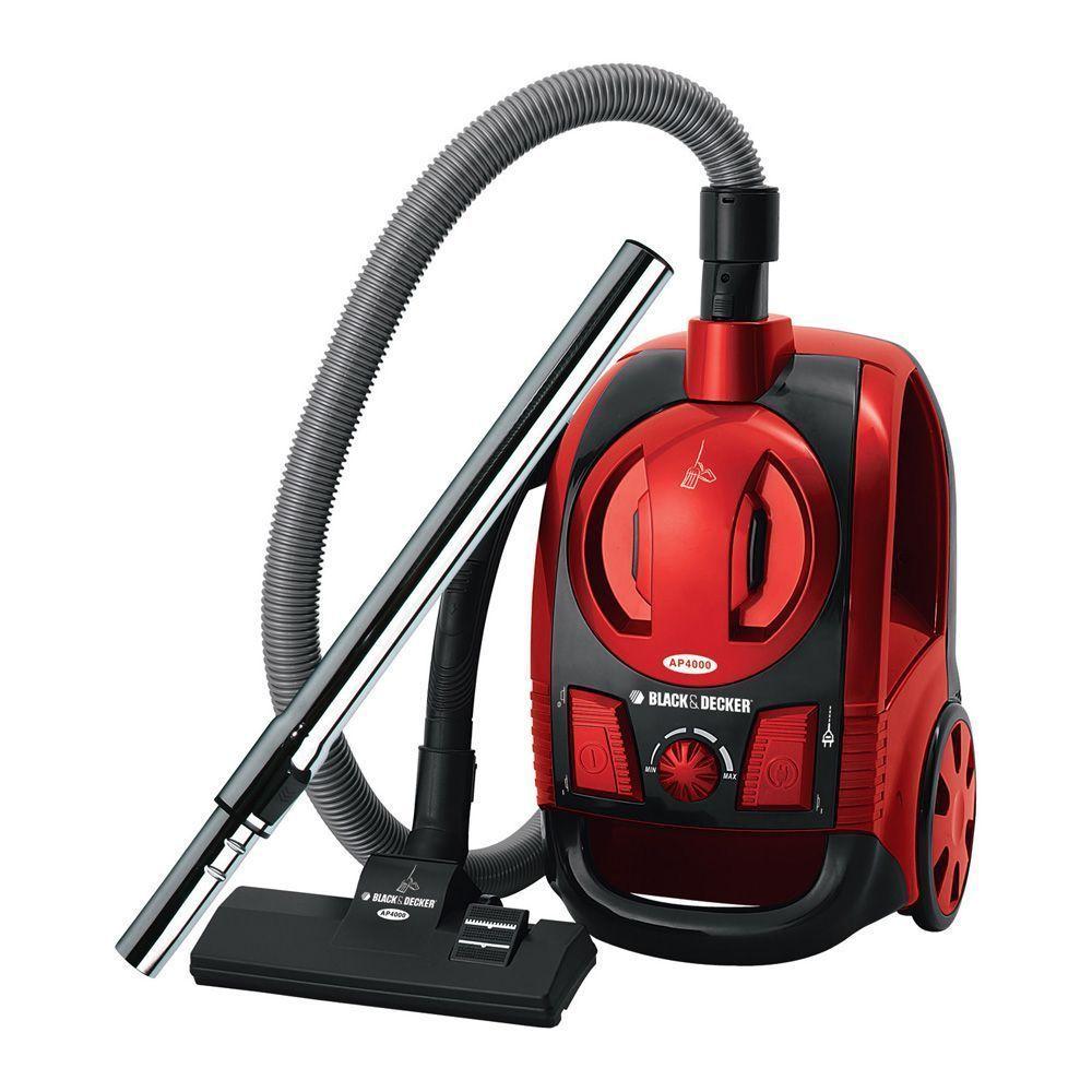 Aspirador de Pó Black&Decker AP4000 Vermelho - 1.600W