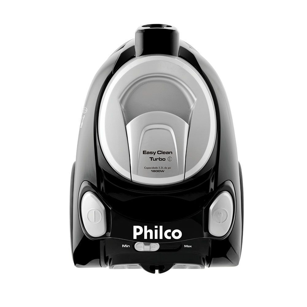 Aspirador de Pó Philco Easy Clean Turbo PR 1800W - Preto