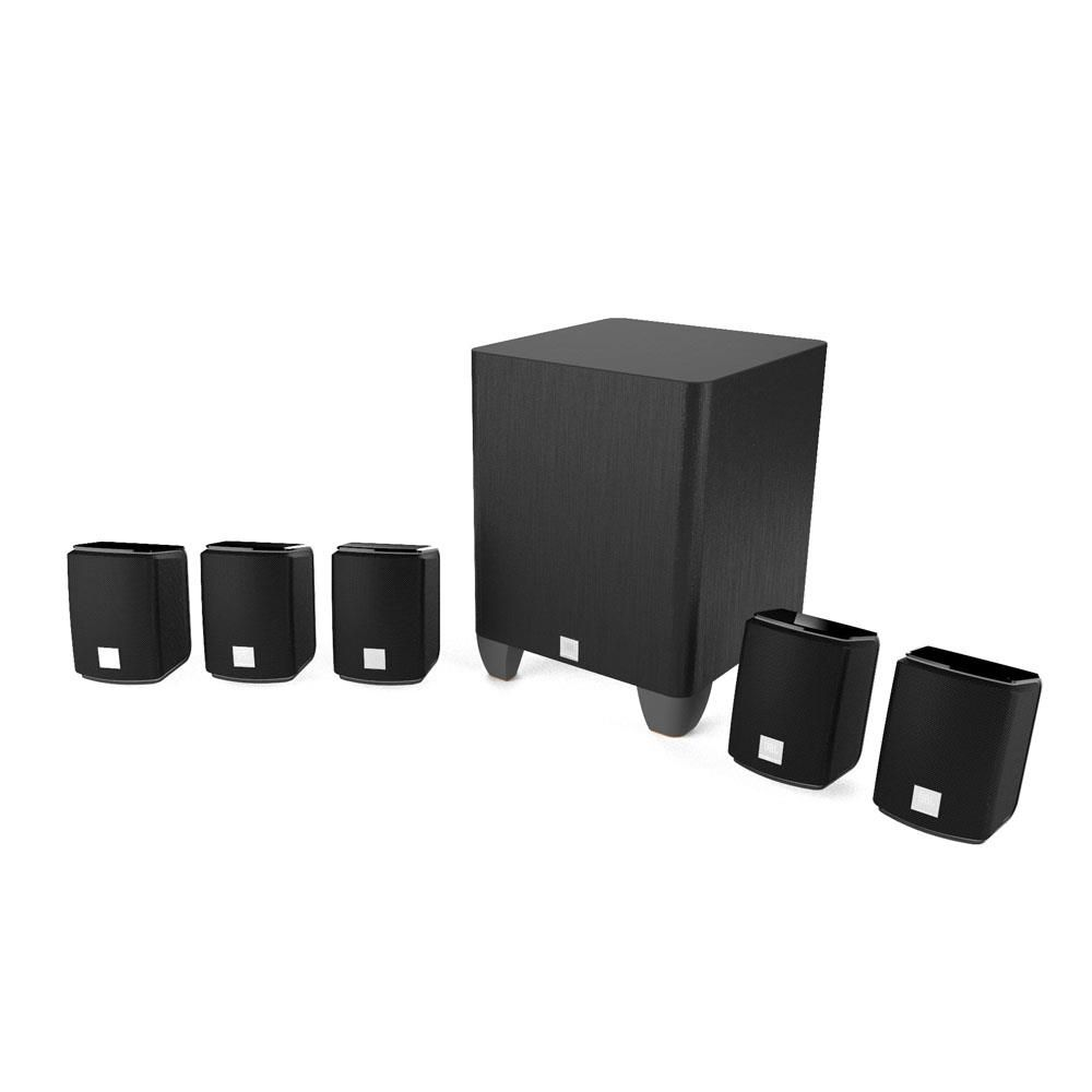 Home Theater JBL Harman J-5100 Sub Ativo Caixas 5.1 USB HDMI - 220V