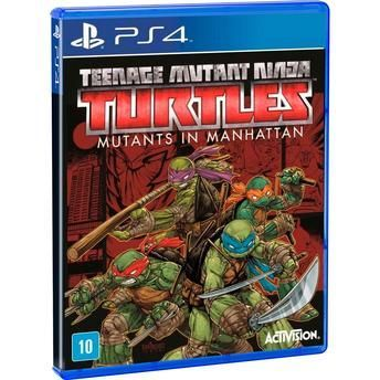 jogo Teenage Mutant Ninja Turtles Mutants in Manhattan - PS4  (Junho)