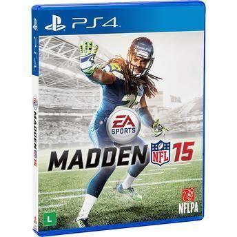 Jogo Madden NFL 15 para Playstation 4