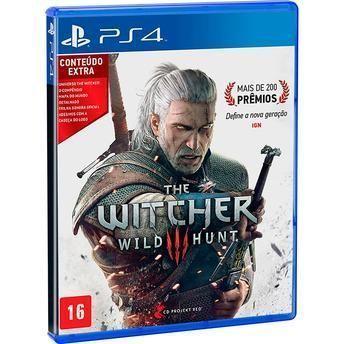 Jogo The Witcher 3: Wild Hunt para Playstation 4