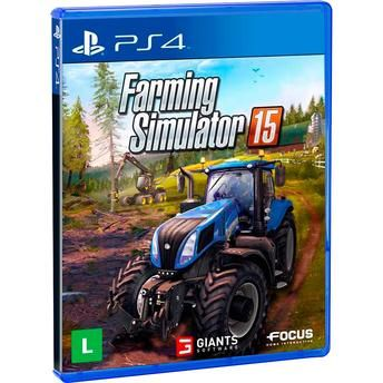 Jogo Farming Simulator 15 Ps4