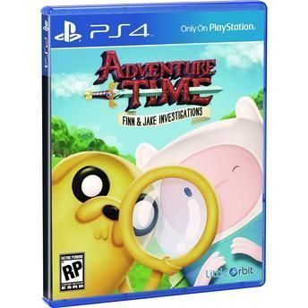 Jogo Adventure Time: Finn And Jake Investigations Ps4
