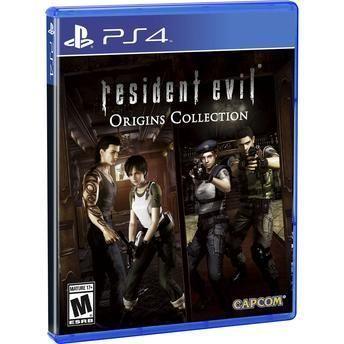 Jogo Resident Evil Origins Collection  PS4