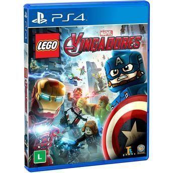 JOGO PS4 LEGO MARVEL VINGADORES BR