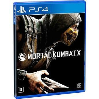 Jogo para PS4 Mortal Kombat X WB Games WG0957AN