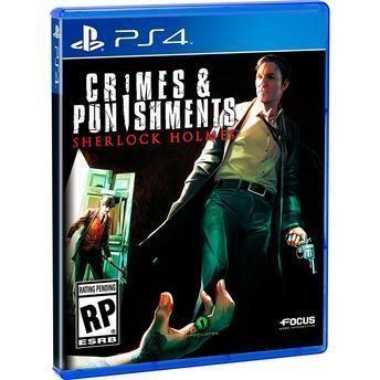 Jogo Crimes And Punishment - Sherlock Holmes PS4