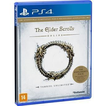 Jogo The Elder Scrolls  Online: Tamriel Unlimited para PS4 Bethesda