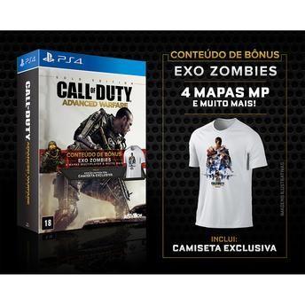 Jogo para PS4 Call of Duty Advanced Warfare Golden Edition Activision