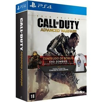 Jogo para PS4 Call of Duty Advanced Warfare Golden Edition Activision