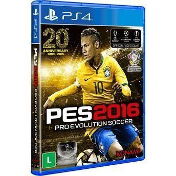GAME PS4 PRO EVOLUTION SOCCER - PES 2016