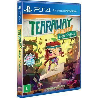 Jogo Tearaway Unfolded PS4