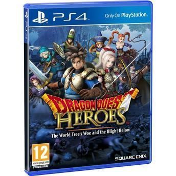 Jogo Dragon Quest Heroes (Day One Edition) - PS4