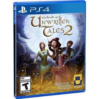 Jogo The Book Of Unwritten Tales 2 Ps4