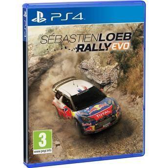 Jogo Sébastien Loeb Rally Evo PS4