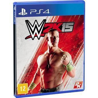 Jogo WWE 2K15 - PS4 - Jogo WWE 2K15 - PS4