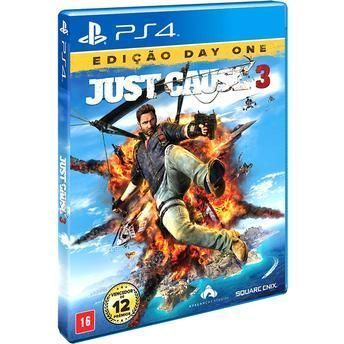 Jogo Just Cause 3: Day One Edition - PS4