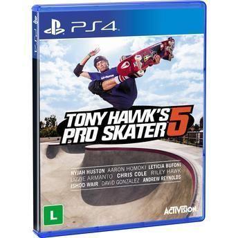 Jogo Tony Hawk?s Pro Skater 5 - PS4