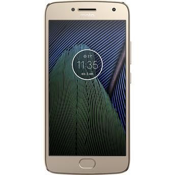 Smartphone Moto G5 Plus XT1683 Ouro Dual Chip Android Nougat 4G 32GB com TV Digital