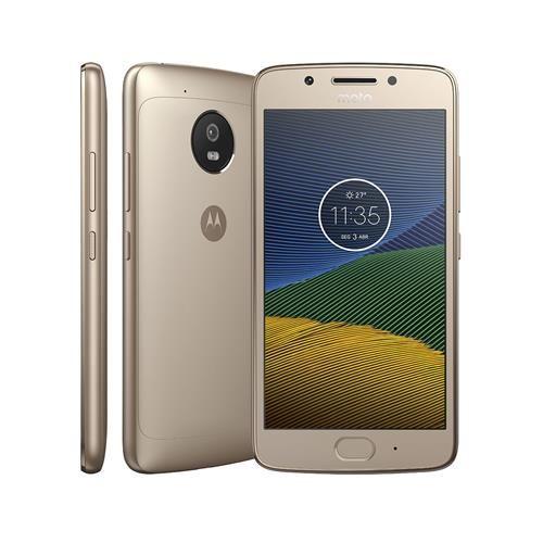 Smartphone Motorola Moto G5 XT1672 Ouro com 32GB, Tela de 5'', Dual Chip, Android 7.0, 4G, Câmera 13MP, Processador Octa-Core e 2GB de RAM