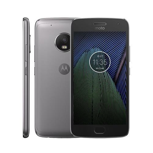 Smartphone Motorola Moto G5 Plus TV XT1683 Platinum com 32GB, Tela 5.2'', Dual Chip, Android 7.0, 4G, Câmera 12MP, Processador Octa-Core e 2GB de RAM