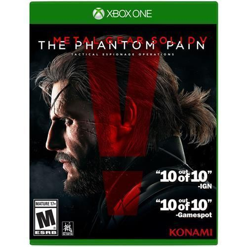 Jogo Metal Gear Solid V: The Phantom Pain (Day One Edition) - Xbox One