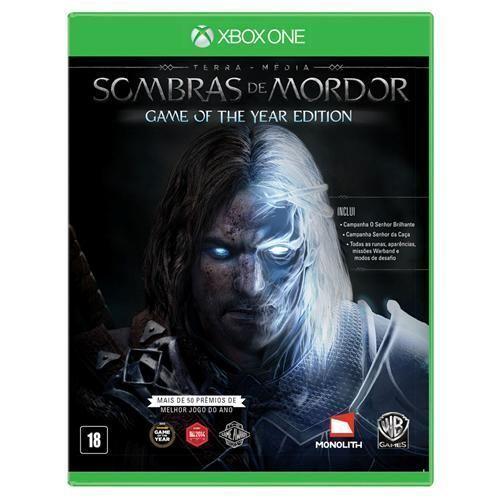 Jogo Terra Média: Sombras de Mordor Goty - Xbox One