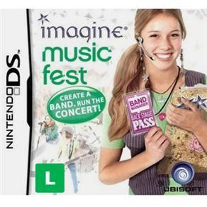 Jogo IMAGINE MUSIC FEST NDS